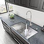 "VIGO 32"" Undermount Single Bowl Kitchen Sink $185"