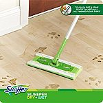 Swiffer Sweeper Cleaner Dry and Wet Mop Starter Kit $8.27