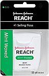 6-pk Reach Mint Waxed Dental Floss, 55 Yards $5.53