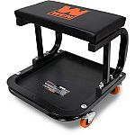 WEN 250-Pound Capacity Rolling Mechanic Seat with Onboard Storage $12.30
