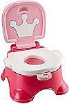 Fisher-Price Stepstool Potty, Pink Princess $11.57
