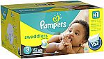 Pampers Swaddlers Diapers Size 3, 162 Count $17.91 (Amazon Family Members)