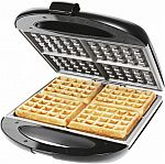 Chefman Square Flip Waffle Maker $20
