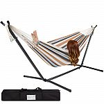 Double Hammock with Steel Stand $46.39
