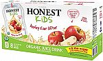 32-pack HONEST Kids Organic Juice 6.50 oz Drink $8.90
