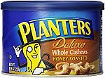 Planters Deluxe Whole Cashews Honey Roasted, 8.25 oz., 3 pack $12.33