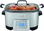 Crock-Pot 5-in-1 Multi-Cooker (SCCPMC600-S) $70