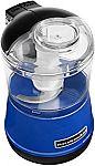 KitchenAid 3.5-Cup Twilight Blue Food Chopper $20