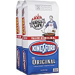 Kingsford 2-Pack 18.6-lb Charcoal Briquettes $9.88