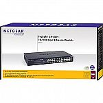 NETGEAR ProSAFE JFS524NA 24-Port Fast Ethernet Rackmount Switch $34.99