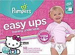 148-Count Pampers Easy Ups Training Underwear Girls 3T-4T (Size 5) $31