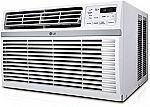 LG 10,000-BTU Window Air Conditioner $200