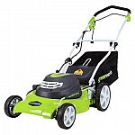 GreenWorks Corded 12 Amp 20-Inch Lawn Mower $102.95 + Free Shipping