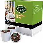 48-Pack Keurig - Green Mountain Breakfast Blend K-Cup Pods $14.99