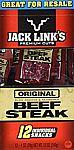 12-Pack of 1-Oz Jack Links Premium Cut Beef Steak Jerky $9