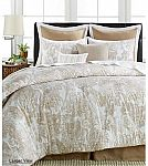8-Pc Sunham Cotton/Linen Comforter Set + $5 Macys Money $42