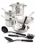 Bella 12-Piece Cookware Set + $5 Macy's Money $30