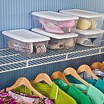 36-Count Sterilite 6 Quart Storage Box $27.84