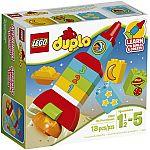 LEGO DUPLO My First My First Rocket, 10815 $5