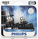 Amazon: Save $6 on Philips CrystalVision Upgrade Headlight Bulbs