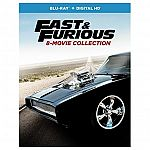 Fast & Furious 8-Movie Collection (Blu-ray + Digital) $19.99 (Pre-Order)