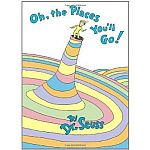 Dr. Seuss - Oh, The Places You'll Go! (Hardcover Book) $5