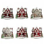 12-Count Martha Stewart Living Winter Tidings House Ornament $12.50 (75% off) and more