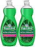 2 Pack Palmolive Ultra Strength Liquid Dish Soap, Original $4.77