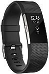 Fitbit Charge 2 Heart Rate + Fitness Wristband, Black, Large $99.99