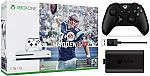 Xbox One S 1TB Madden Bundle + Xbox One S Controller + Play and Charge $290