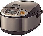 Zojirushi NS-TSC10 5.5 Cup Micom Rice Cooker and Warmer $117.60