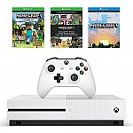 PlayStation 4 Slim 500GB Uncharted Bundle or Xbox One S 500GB Minecraft Favorites Bundle $250 + $50 Kohl's cash