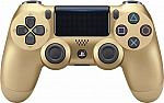 Sony - Dual Shock 4 Wireless Gamepad for Sony PlayStation 4 - Gold $40