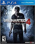 PS4 Games Sale: UNCHARTED 4: A Thief's End  $20 and more