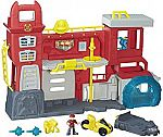 Playskool Heroes Transformers Rescue Bots Griffin Rock Firehouse Headquarters Playset $20