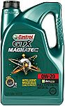 Castrol GTX MAGNATEC 0W-20 Full Synthetic Motor Oil, 5 QT $17.88