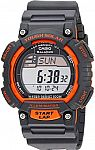 """Casio Men's """"Tough Solar"""" Stainless Steel Fitness Watch $14.54"""