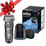 Braun Series 7 7865cc Wet & Dry Electric Shaver + 3-pack Cartridge $130 AR