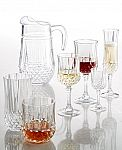 Longchamp Cristal D'Arques Set of 4 Wine Glasses $9.99