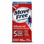 Move Free Advanced (80 tabs) Joint Health Supplement $11.28