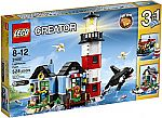 LEGO Creator 31051 Lighthouse Point Building Kit $36