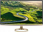 Acer H277HU kmipuz 27-Inch IPS WQHD 2560 x 1440 Display $300