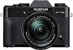 Fujifilm X-T10 Digital Camera Kit with XC16-50mm Lens $540 or $513