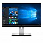 """Dell Ultrasharp U2417HJ 24"""" Screen LCD Monitor with Wireless Charging Stand $184"""