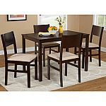 Lucca 5-Piece Dining Set, Multiple Colors $149 w/pickup discount