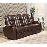 Mastro Leather Power-Reclining Home Theater Seating Sofa  by Abbyson Living $699 (Save $600)