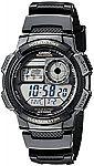 Casio Men's AE-1000W-1AVCF Resin Sport Watch $12
