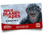 $25 Red Robin gift card $25 + FREE $10 War for the Planet of the Apes Movie Ticket