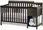 Sorelle Florence 4-in-1 Convertible Crib and Changer $130