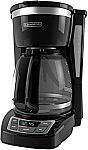 BLACK+DECKER 12 Cup Programmable Coffee Maker $18
